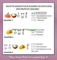 Nettoyage des fruits et légumes