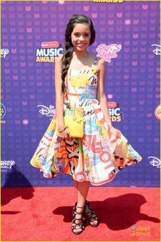Jenna Ortega at the Radio Disney Music Awards 2016