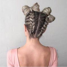 Trenzas que van bien con cualquier largo de cabello - Es la Moda