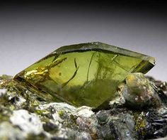 Sphene - Sphene also known as Titanite helps to calm the emotions and soothe the heart. It aligns the spiritual, emotional, and mental bodies, stimulating healing and/or improving health. Sphene is good for calming the mind and getting rid of the negative energy you might be holding onto.
