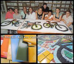 MOSAICO CREATIVO de fj Mosaic Art: WORKSHOP DE MURALISMO EN JOINVILLE - SANTA CATARIN...