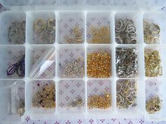 Akro Mils bead Supplies container Box storage ear by krizba04, $25.00
