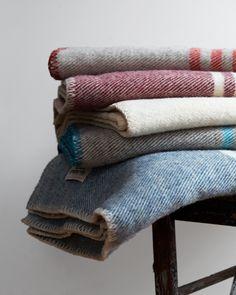 Wool Blankets - MacAusland Woolen Mills - Nalata Nalata