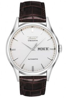 Tissot Visodate Day Date Automatic 40mm Watch  //  classy, simple, clean look