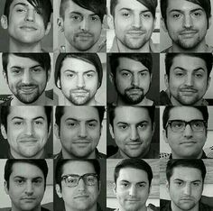 Evolution of Mitch Grassi. Btw I like him in the beginning. It starts in the bottom right