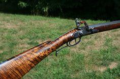 Second Kibler Rifle complete Flintlock Rifle, Black Powder Guns, Long Rifle, Shooting Sports, Guns And Roses, Seed Bead Patterns, Guns And Ammo, Pistols, Tactical Gear