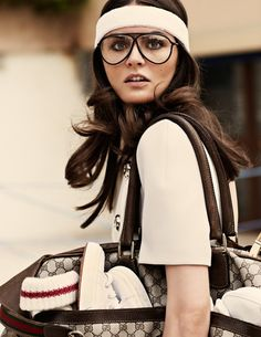 Anouck Lepere For Elle Italia November 2011
