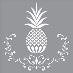 "Americana Decor-plantillas-Posh piña-12 ""X 12""-Decoart"