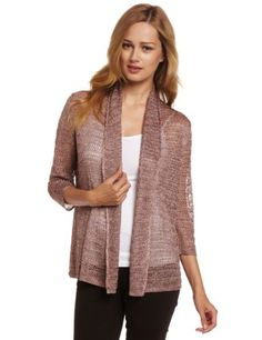 Jones New York Women's Petite 3/4 Sleeve Cardigan Jones New York. $49.50. Made in Vietnam. Open front. 100% rayon. Hand Wash. Light weight