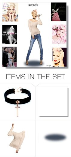 """""""P!NK Doll -Contest - My Fav Singer"""" by rboowybe ❤ liked on Polyvore featuring art"""