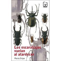 """Ficha de lectura de """"Los escarabajos vuelan al atardecer"""" de María Gripe, realizada por Alberto García."""