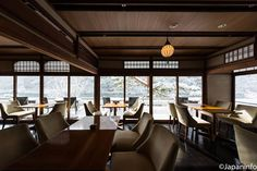 Japaninfo added 17 new photos to the album: โลกทัศน์แบบ Ukiyo-e@Cafe Hassui/Arashiyama.