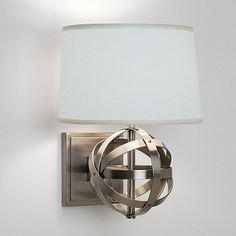 """Stella Wall Sconce Stella Wall Sconce Overall: 12 3/4""""H X 9 3/4""""W X 8""""D $249"""