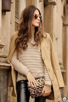 FashionCoolture - 06/15/2015 look du jour Lotus black and camel outfit (2)