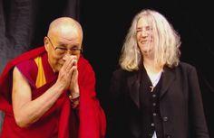 "Patti Smith led the #Glastonbury crowd to sing ""Happy Birthday"" to @DalaiLama. Watch it here! http://blbrd.cm/D0frNJ"
