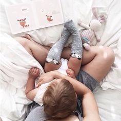 Boa semana! Curtam cada momento com seus bebês!  Foto: themountainlaurel  #revistadecorababy #bebe #baby