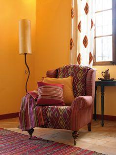 Gordijn- en meubelstoffen Four Seasons van JAB ANSTOETZ, te koop bij Eurlings Interieurs http://www.eurlingsinterieurs.nl/ https://www.facebook.com/eurlingsinterieurs