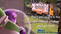 Don't Get Caught Moving in the Rain - Choose a Mover you Can Trust!  #flashflood #rain  @MesaMoving  mesamoving.com