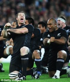 the All Blacks, a New Zealand rugby team made of mostly Maori people
