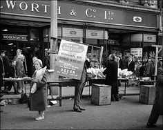 Woolworths, Parliament Row, Hanley, Stoke-on-Trent, Staffs. Kingston Upon Thames, Old Pottery, Stoke On Trent, Local History, Newcastle, Old Photos, Childhood Memories, Vintage Shops, Nostalgia
