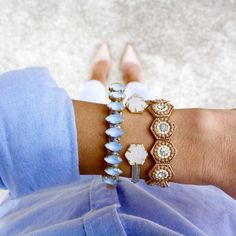 mkbelle88:Arm party featuring Kendra Scott-my photoInstagram: darlingofthesouth