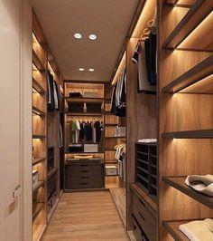 I Like The Lighting For The Shelves Wardrobe Room, Walk In Wardrobe,  Wardrobe Design