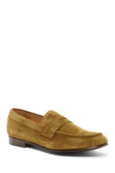 Aiden Suede Penny Loafer