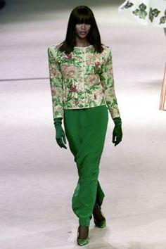 Saint Laurent Spring 2002 Couture Fashion Show - **Van Gogh** Saint Laurent Paris, Couture Collection, Designer Collection, High Fashion, Fashion Show, Fashion Design, Christian Dior, Paris Design, Italian Fashion