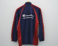 Champion Jacket Vintage Champion Track Jacket Champion Vintage