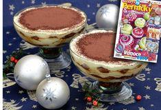 Z medového receptáře: Tiramisu, jak ho ani Italové neznají! Tiramisu, Pizza, Pudding, Ethnic Recipes, Tv, Food, Mascarpone, Custard Pudding, Television Set