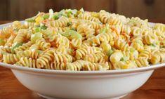 Φανταστική μακαρονοσαλάτα για μπουφέ παιδικού πάρτι! Oven Chicken Recipes, Pasta Recipes, Cookbook Recipes, Cooking Recipes, Food Network Recipes, Food Processor Recipes, The Kitchen Food Network, Salad Bar, Fun Cooking