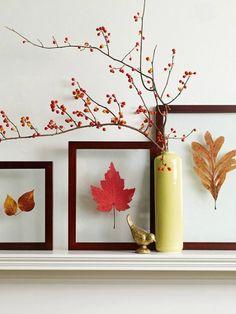 Subtiel de herfst in huis met stijlvvolle lijstjes | herfst in huis | bespaarmama.nl