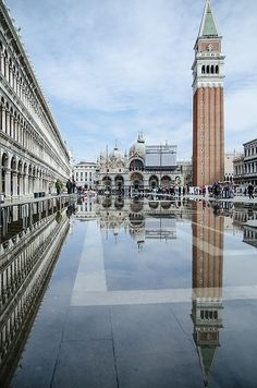 San Marco Piazza , St. Marks Square, Venice IT