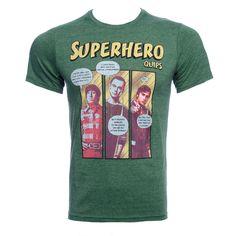 The Big Bang Theory Superhero T Shirt (Green)