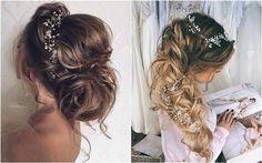 Ulyana Aster Romantic Long Bridal Wedding Hairstyles ❤ See more: http://www.deerpearlflowers.com/romantic-bridal-wedding-hairstyles/