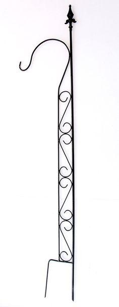 rankhilfe mit halter 23299 rankgitter aus metall h 144cm b 27cm kletterhilfe sch ne. Black Bedroom Furniture Sets. Home Design Ideas