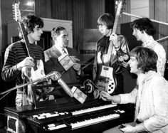 """November 2, 1967 – Pink Floyd spend the day at Abbey Road Studios in London recording """"Paint Box""""."""