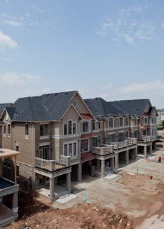 Pictures from Phase IV construction in Millstone on the Park - May 2013