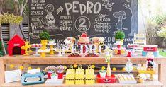 Encontrando Ideias: Festa Snoopy!