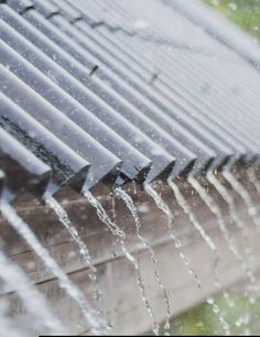 Rain Drops on a Tin Roof