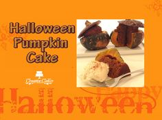 Halloween Pumpkin Cake! Watch how to make this cake here : http://youtu.be/Q3HDLd_Apqk