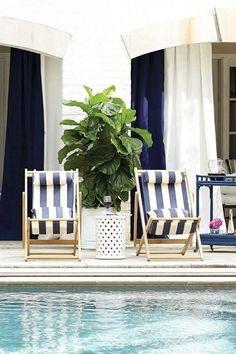 Outdoor Rooms, Outdoor Living, Outdoor Furniture Sets, Outdoor Decor, Poolside Furniture, Furniture Decor, Indoor Outdoor, Living Pool, Cool Swimming Pools