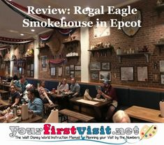 Review: Regal Eagle Smokehouse in Epcot's American Adventure Pavilion - yourfirstvisit.net Disney World Deals, Disney World Food, Disney World Restaurants, Disney World Florida, Disney World Planning, Walt Disney World Vacations, City Chicken, Disney World Characters, Holidays Around The World