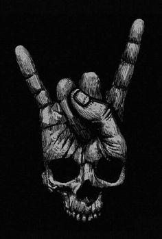 New skull finger, dark skull. Kunst Tattoos, Skull Tattoos, Tattoo Drawings, Art Drawings, Drawings Of Skulls, Art Tattoos, Totenkopf Tattoos, Skull Artwork, Tatoo