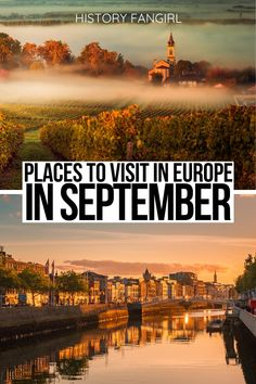 Looking to for the best places to visit in September in Europe? These are my favorite cities for a perfect September European getaways! weekend getaways in Europe | Europe weekend getaways | best places to visit in Europe | where to go in Europe in September | things to do in Europe in September | things to see in Europe in autumn | Europe off-the-beaten-path | romantic autumn getaways in Europe | Europe travel guide | Europe vacation guide | Europe road trip ideas | travel tips for Europe…