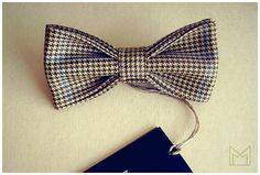 Yellow and Black Men's Bow Tie FREE SHIPPING by MonejBowTies