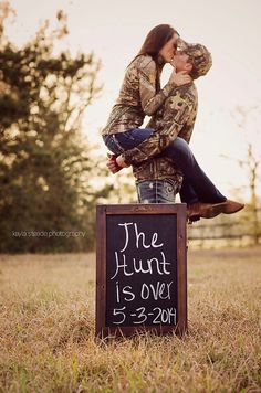 Kayla Steade Photography #couples #engagement #photography #hunt is over #love…
