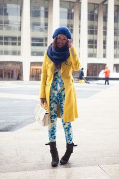 Song of Style: Dressing for the Snowstorm during New York Fashion Week