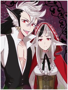Fire Emblem Fates - Keaton and Velouria