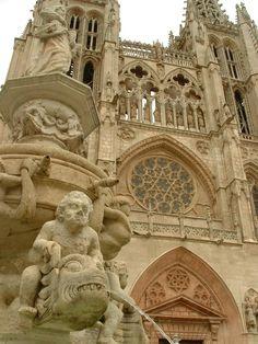 En España, hay grandes catedrales, aunque las más conocidas son las de Sevilla, Burgos, Toledo, León, Santiago de Compostela etc.En el resto de España, también existen catedrales muy bonitas...